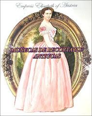 MUÑECAS DE RECORTABLES ANTIGUAS