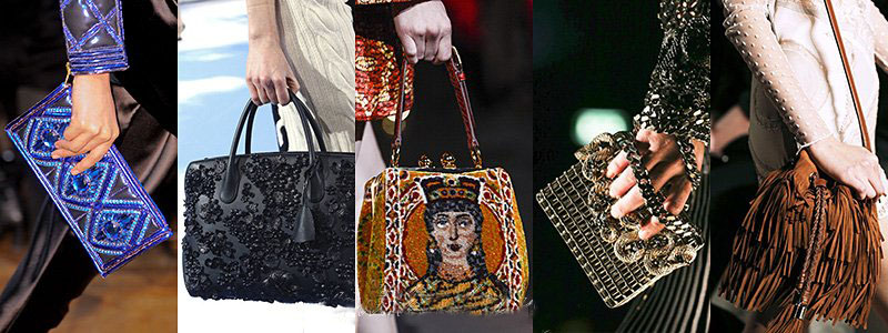 Fall Winter 2013 Women's Handbags Fashion Trends