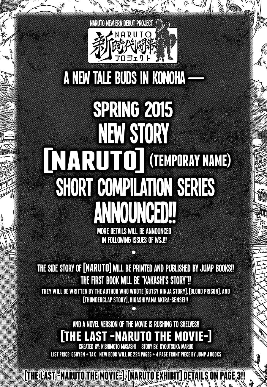 Naruto chap 700 – Chap cuối Trang 23
