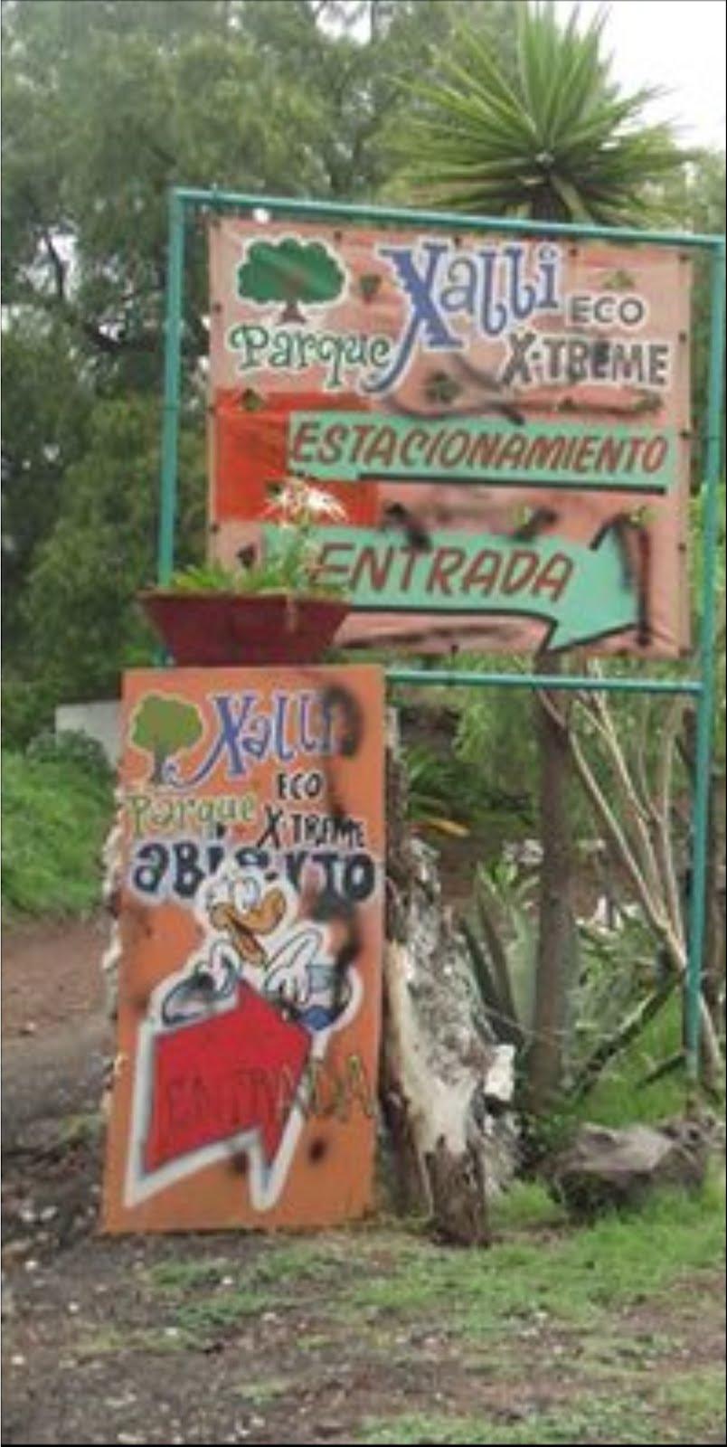 En la Sierra de Santa Catarina sobrevive proyecto del Parque Xalli