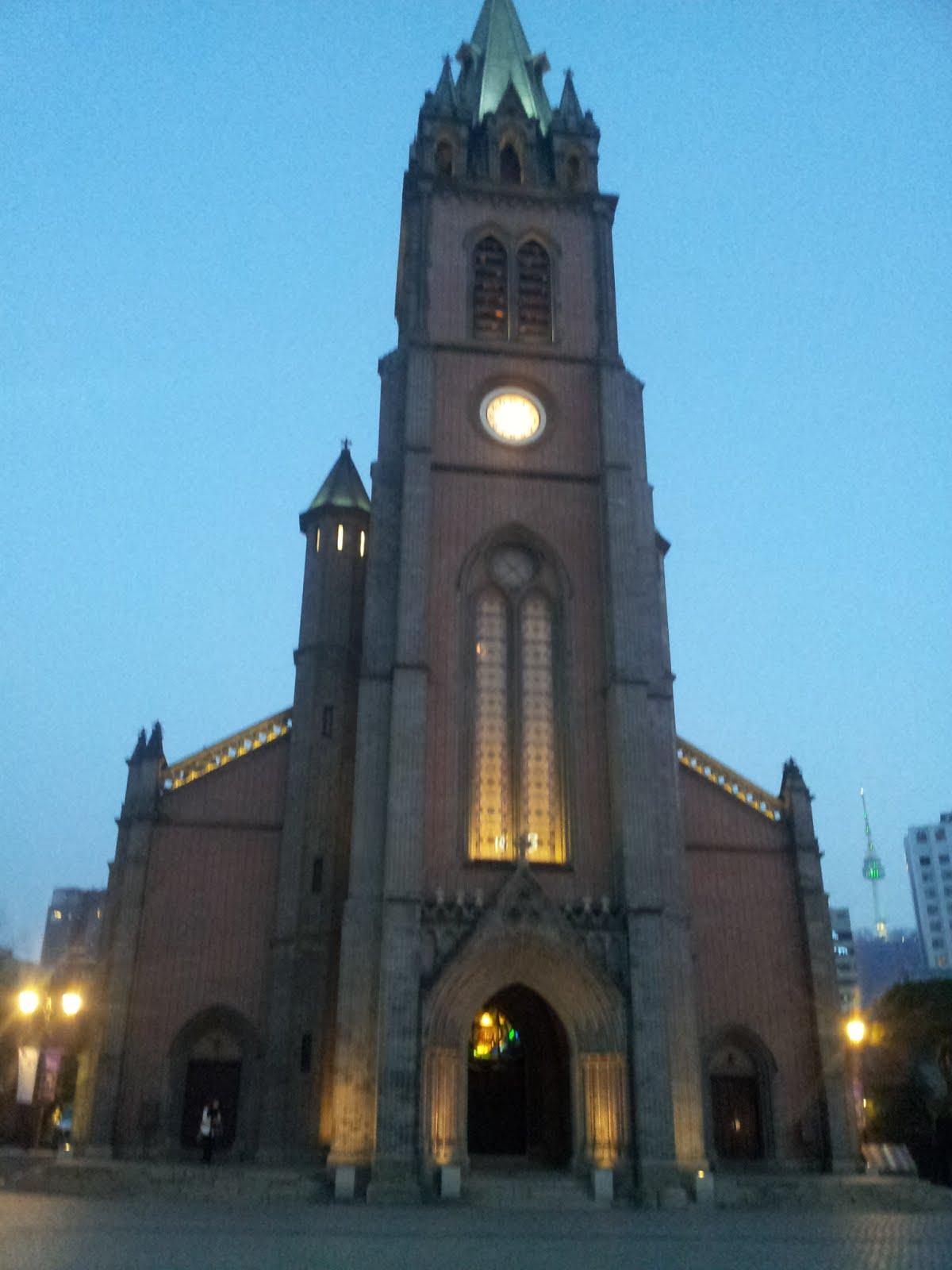 Myeongdong katedrali