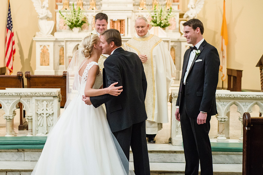 DC Wedding Photography - Old St. Mary's Catholic Church