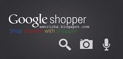google shopper app for andriod