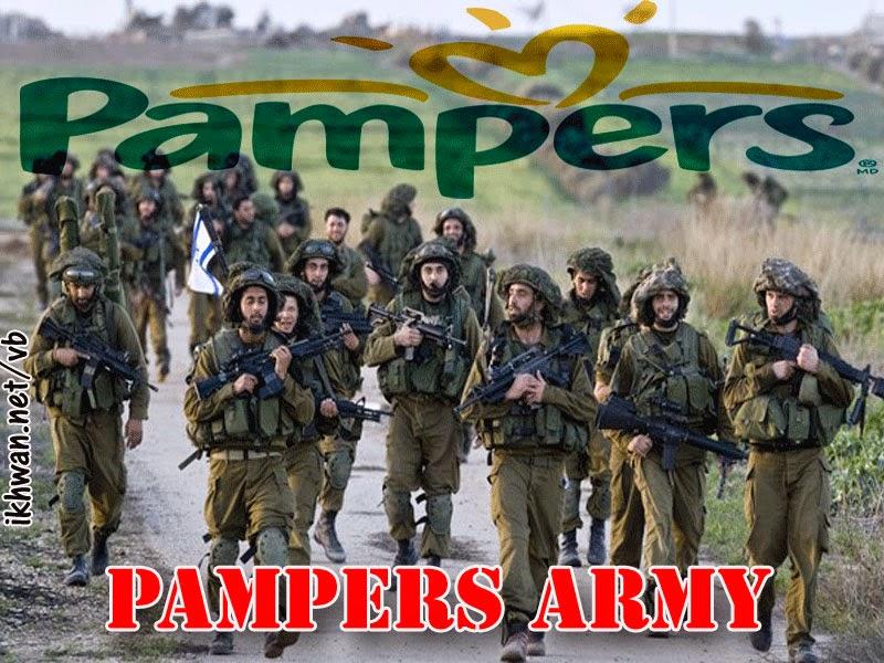 Tentara Israel Takut Mati Hingga Harus Pakai Pampers Dan Pembalut