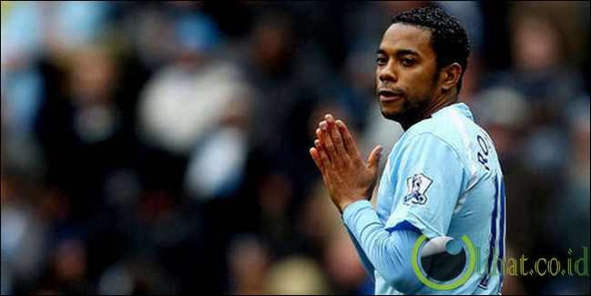 Robinho (Manchester City ke AC Milan)