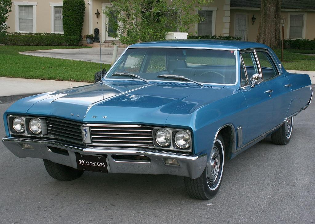 1967 Buick Skylark 4 Door Sedan. U201c