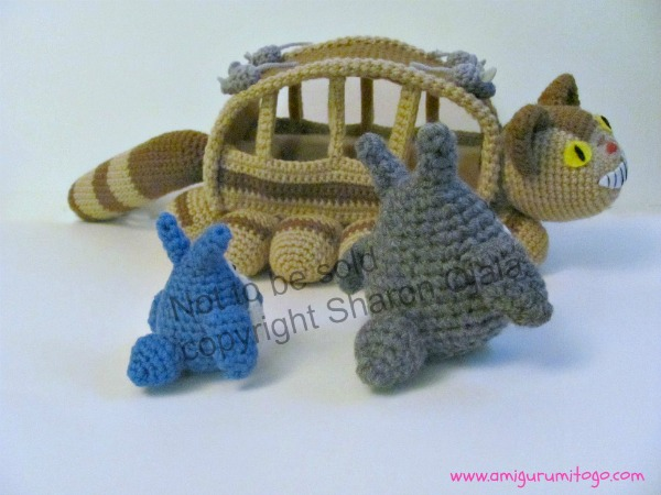 Free Amigurumi Wedding Couple Pattern : Blue Totoro Free Crochet Pattern ~ Amigurumi To Go