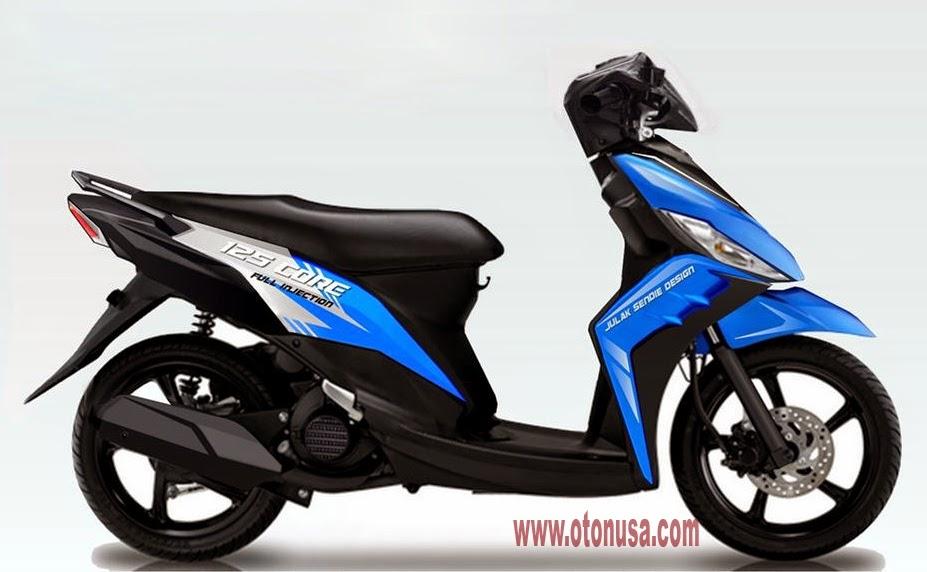 Yamaha Mio Blue Core