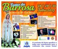 Barrosa(Benavente)- Festas em Hª de Nª Srª de Fátima 2017
