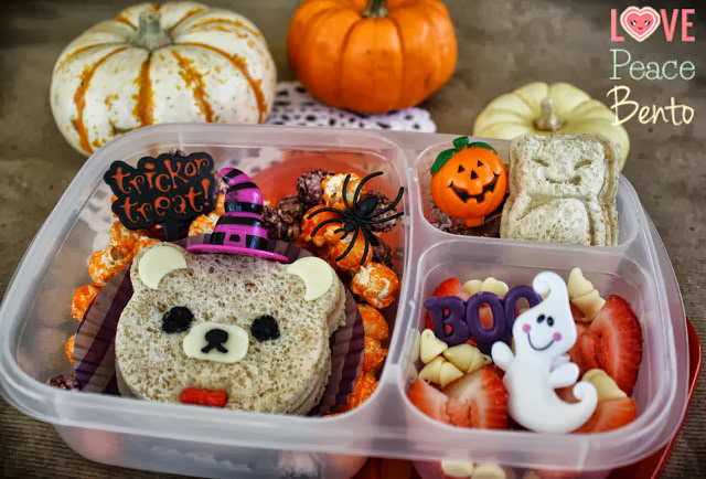 Love Peace Bento - Halloween Lunches