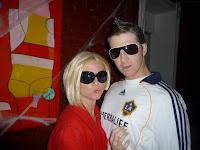 disfraz de david beckham y Victoria Beckham