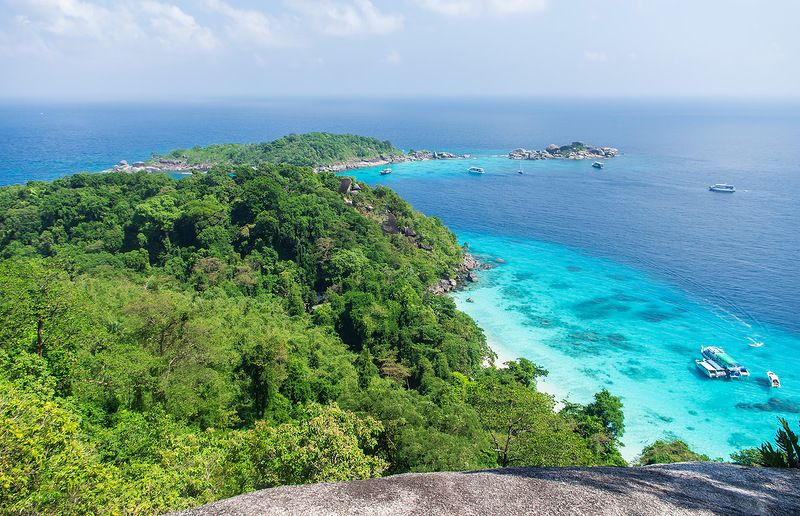 Thailand Similan islands