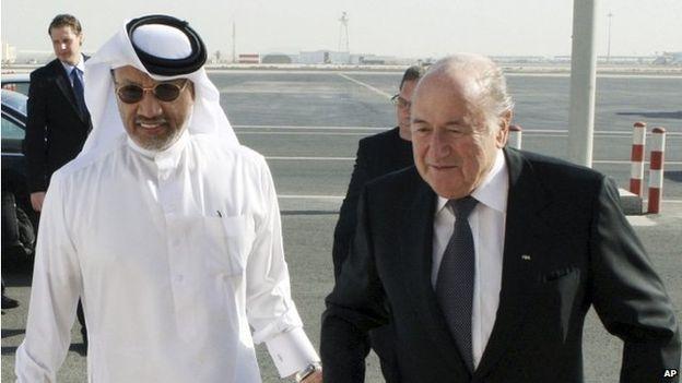فضيحة الفيفا - فساد و رشاوي و قطر تعلق