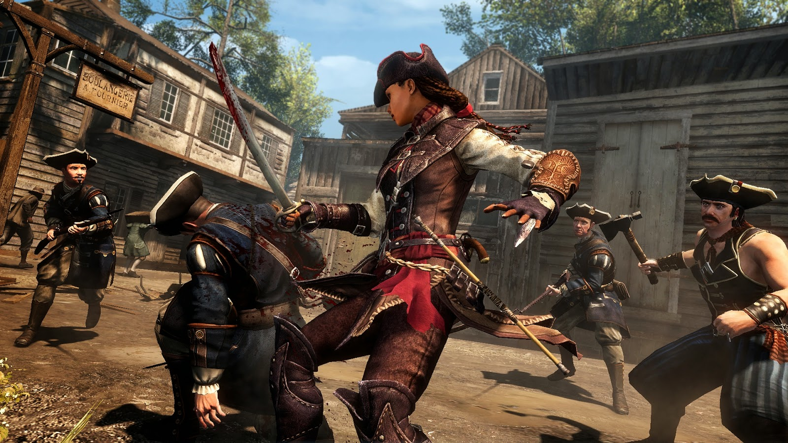 Aveline Assassin's Creed 3