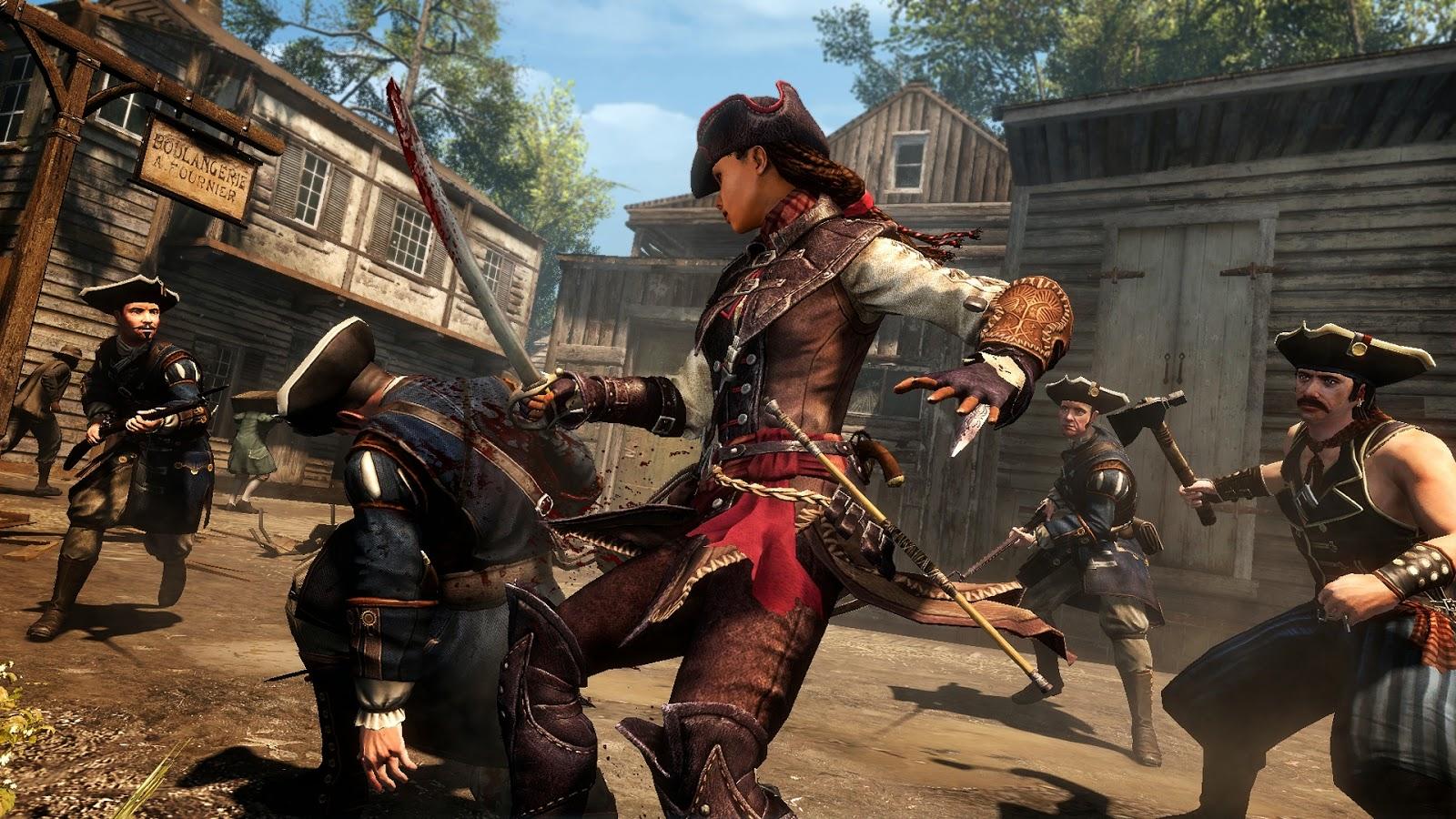 Aveline Assassin's Creed 3