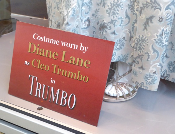 Diane Lane Cleo Trumbo costume shoes