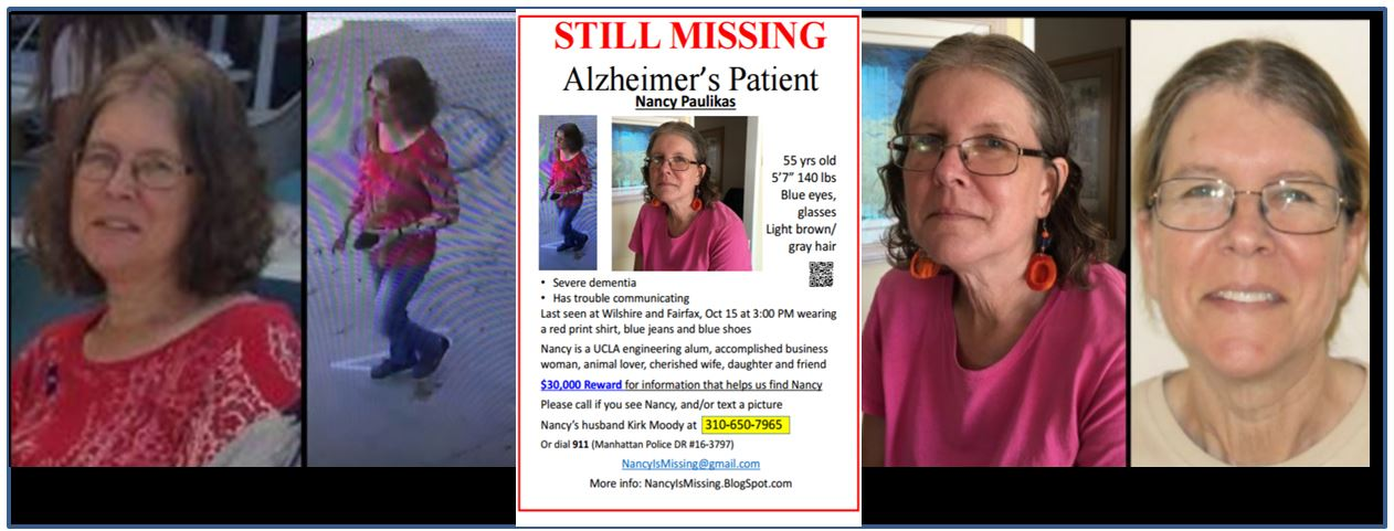 URGENT: $30,000 REWARD... Nancy Paulikas Is Still Missing!