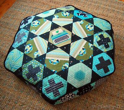 hexagon floor cushion