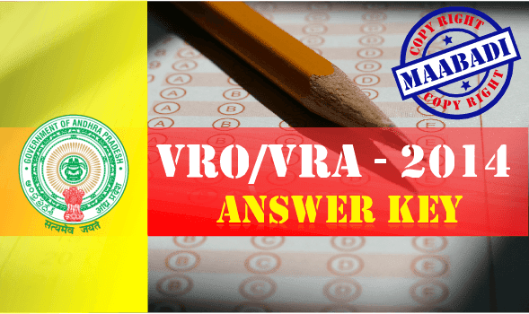 VRO VRA Answer Key 2014