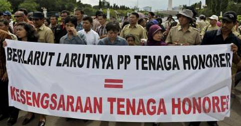 Nasib Honorer K2 Setelah Adanya Moratorium Penerimaan CPNS
