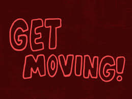 Let's Get Moving #MondayMotivation