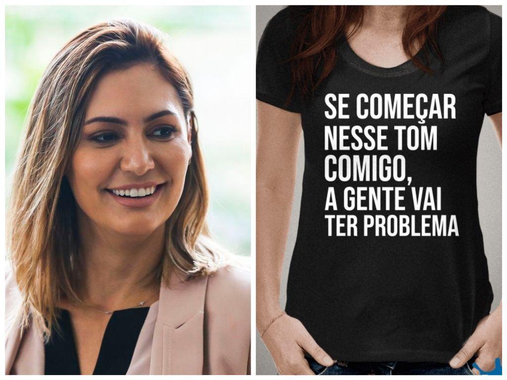Futura Primeira Dama Usa Camiseta Com Recado De Repreensao De Juiza