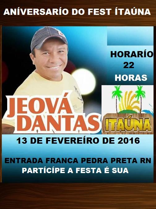 ANÍVERSÁRÍO DO FEST ÍTAÚNA PEDRA PRETA RN.