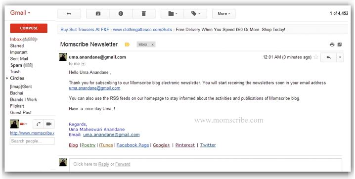 How to Create Mail Merge in Gmail with Google Docs - Momscribe