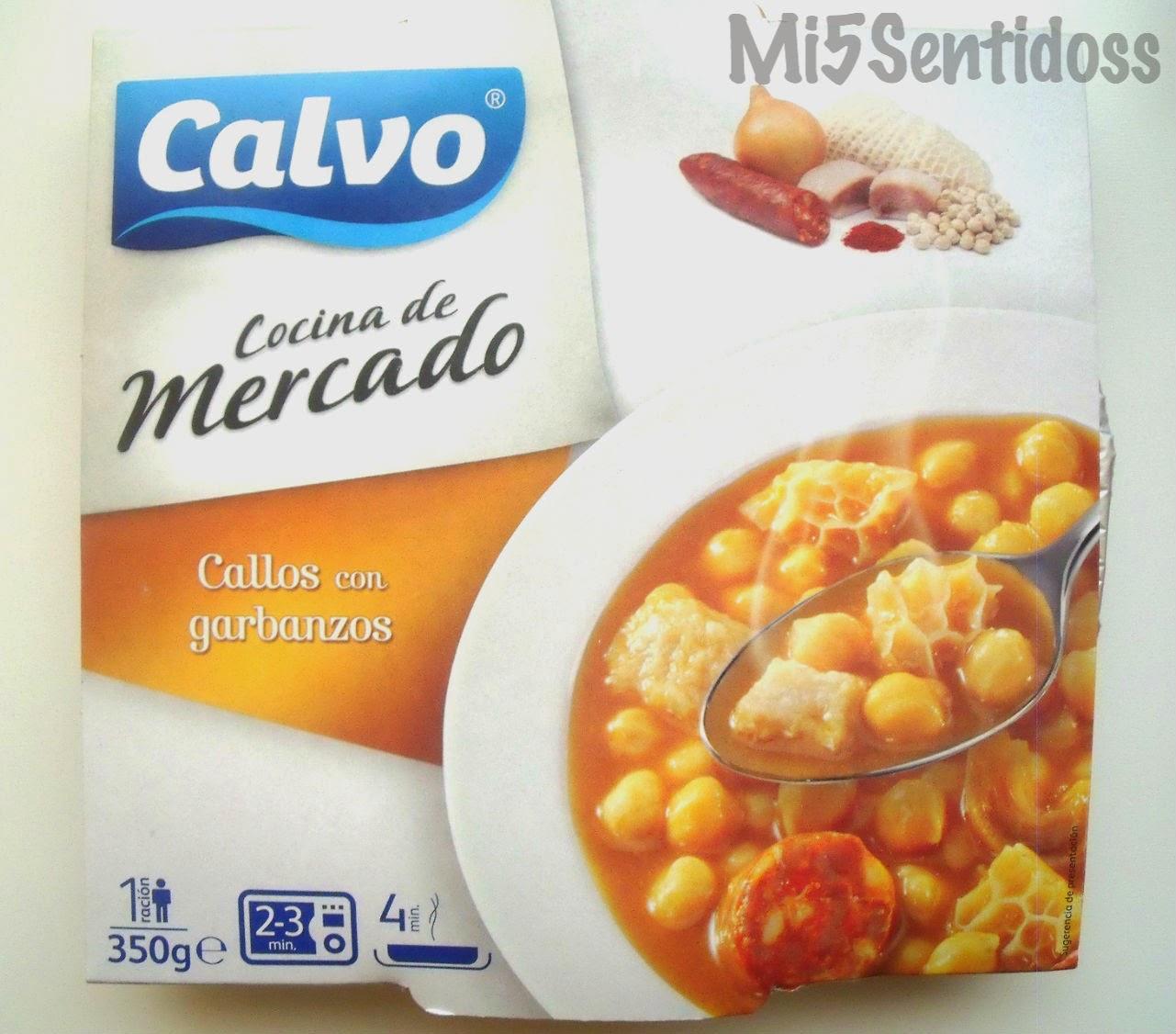 Calvo Callos con garbanzos