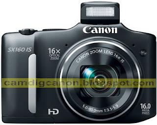 Harga Kamera Digital Canon PowerShot SX160 IS dan Spesifikasi Lengkap 2013
