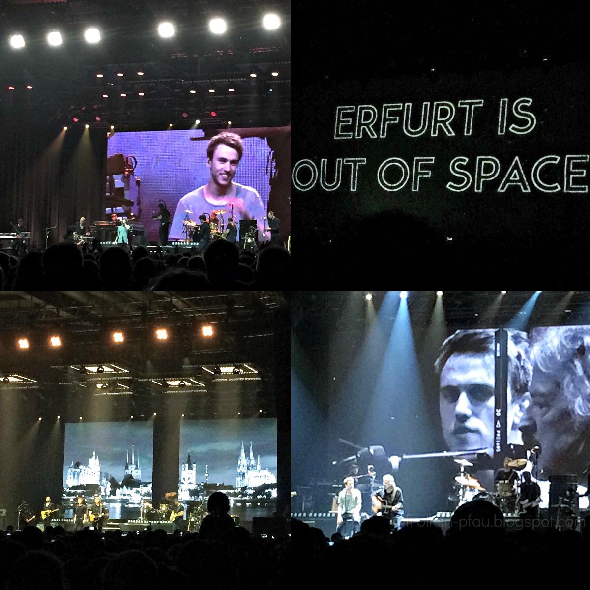 Erfurt, Thüringen, Clueso und Band, Konzert, Messe Erfurt, Messehallen, BAP, Wolfgang Niedecken, Verdammt lang her, Abschlusskonzert Clueso