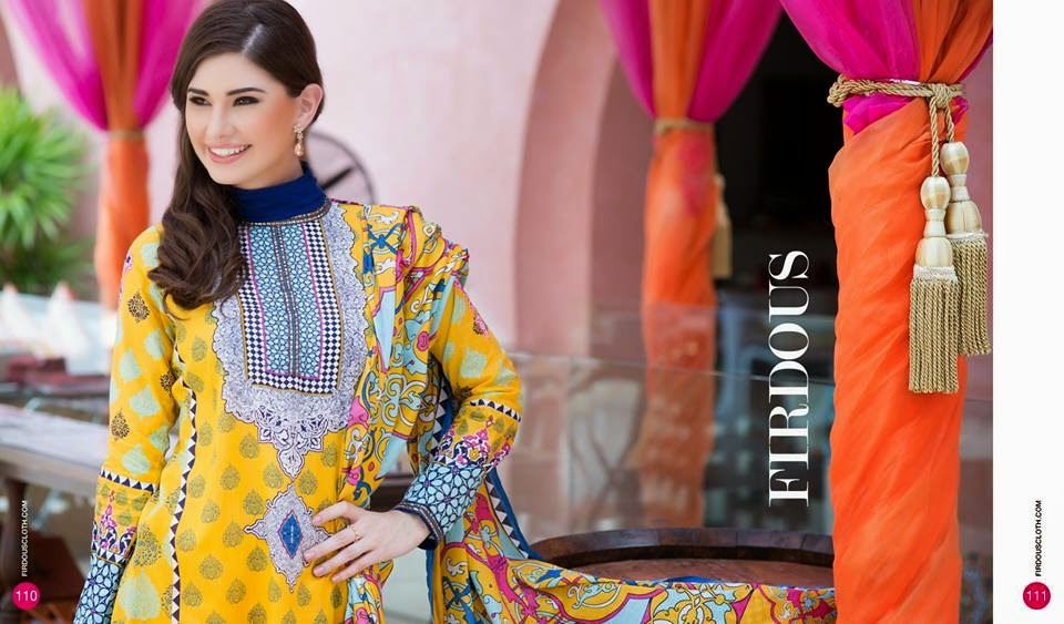 Pakistani dresses 2015 summer collection