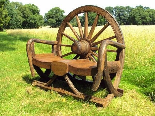 banc forme roue