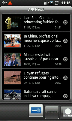 Android TV App - AFP News