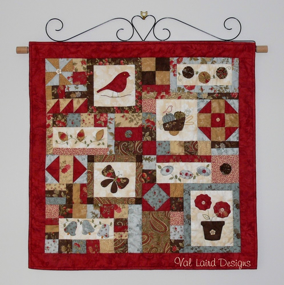 Val Laird Designs Journey Of A Stitcher Free Pattern