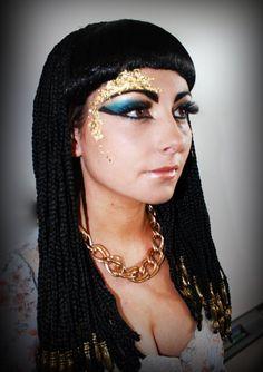 Maquillaje de Cleopatra para disfraz