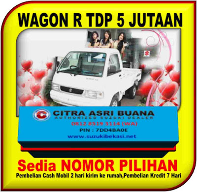 PROMO SUZUKI CARRY PICK UP AKHIR TAHUN TDP 5 JUTAAN