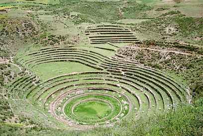 Culturas prehisp nicas for Que significa terraza