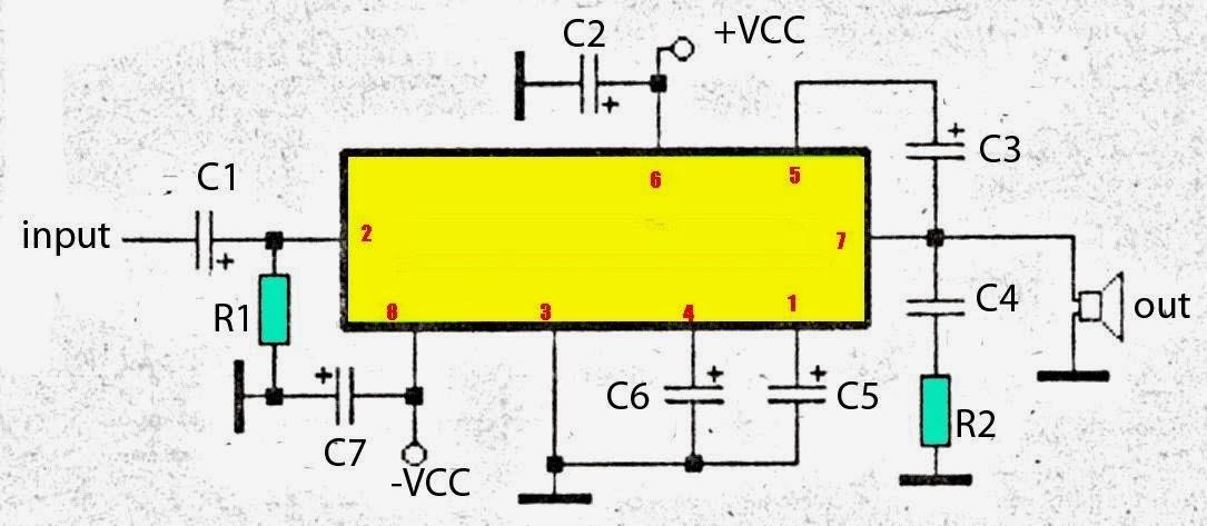AmplifierCircuitscom subwoofer