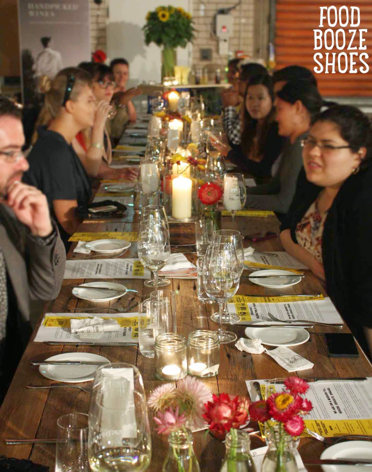 ozharvest celebrates 10 years with table of 10 dinners