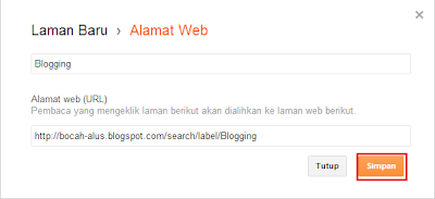 isi form laman alamat web