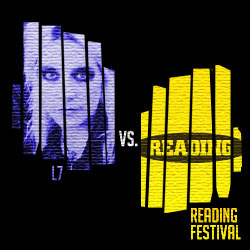 The 15 Greatest 'Fuck You's In Music: 05. L7 vs. Reading Festival