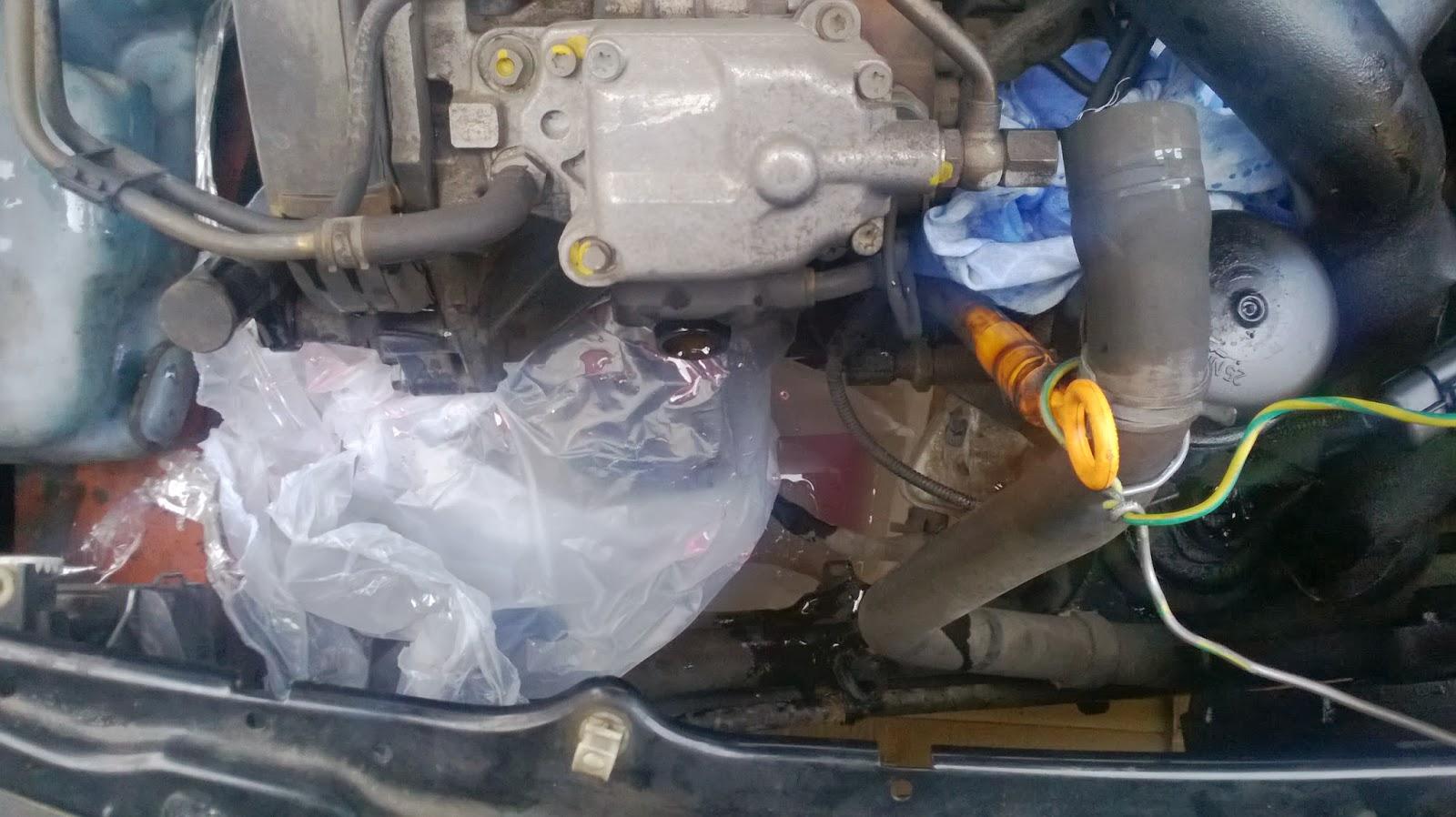 changement un moteur sur ford mondeo 3