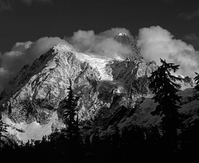 Mount Shuksan First Snow