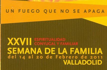 XXVII SEMANA DE LA FAMILIA