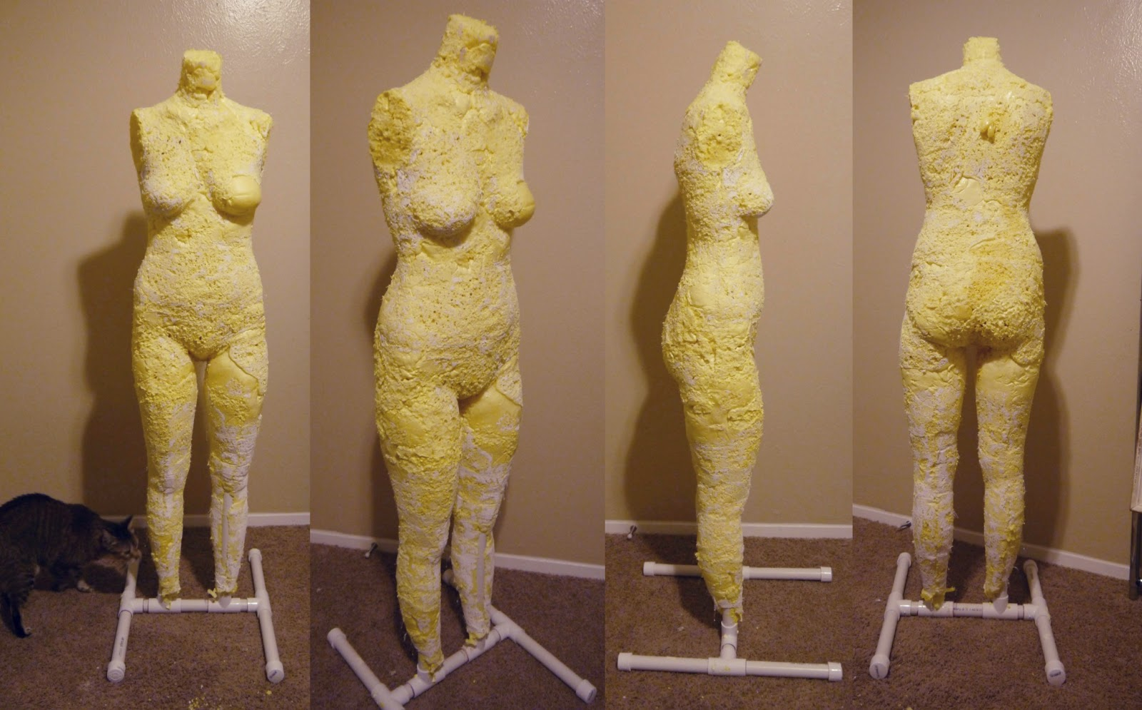 katastrophic: DIY Dress Form Tutorial Part 2: Building the stand ...