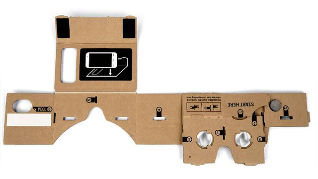 Google Cardboard headsets are built out of simple, low-cost components; and the headset specifications were designed by Google.