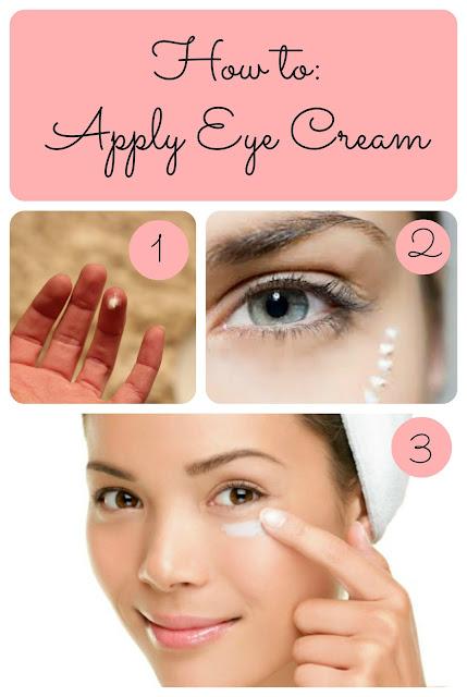 Why Use Ring Finger For Eye Cream