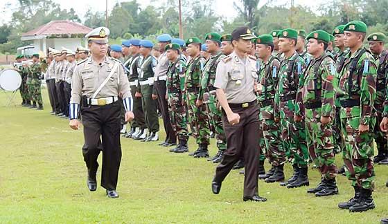 Pengamanan Natal Disiapkan 330 Personil & 7 Pospam