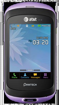 Pantech Swift - Pantech P6020 - AT&T